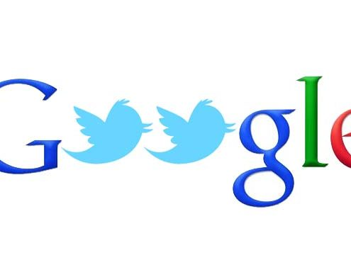 Twitter en las búsquedas de Google