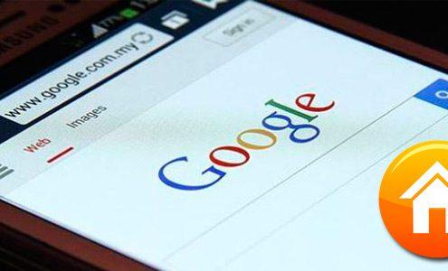Hacer Google mi página de Inicio