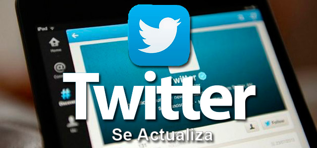 Twitter se actualiza