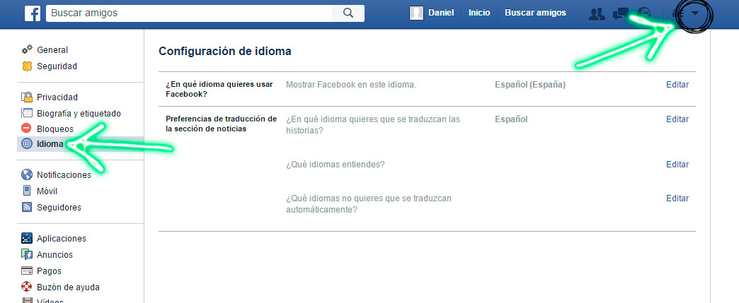 idioma_facebook